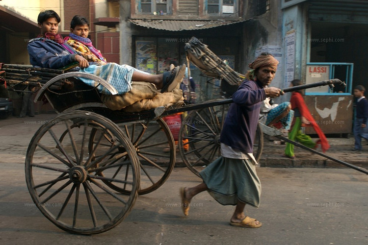 rickshaw puller essay I have to write an essay on this:  balram's father is vickram halwai, a poor rickshaw puller who wishes for at least one of his sons to have the opportunity to live like a man vickram .