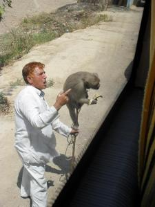 Monkey Tamer near Uttar Pradesh